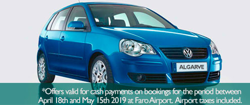 Special offer for Car hire in Carvoeiro Algarve