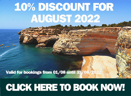 Get your quote for car hire in Carvoeiro NOW!